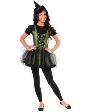 De heks het westen Tovenaar Oz Kostuum voor vrouw