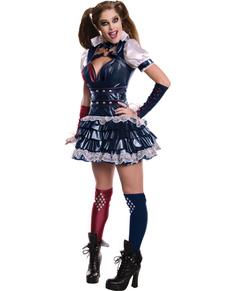 Arkham Franchise Harley Quinn kostume til kvinder