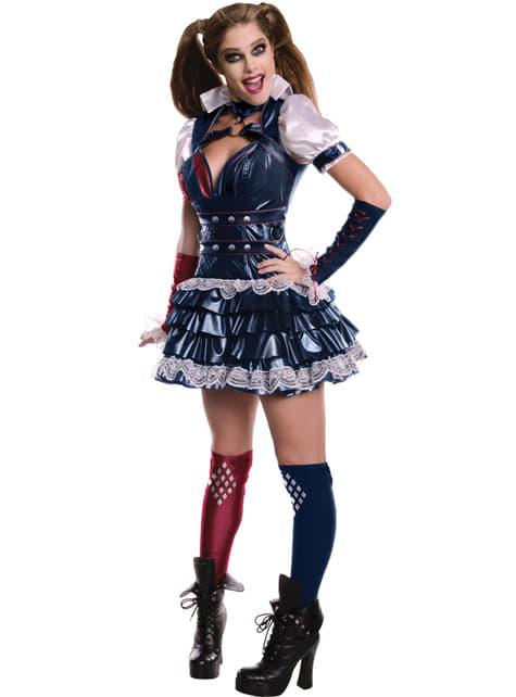 Disfraz de Harley Quinn Arkham Franchise para mujer