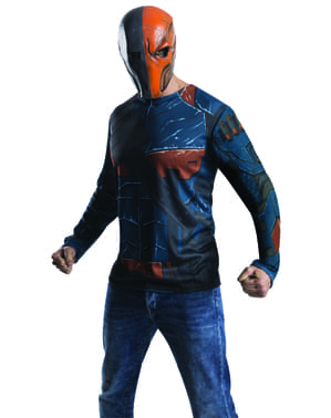 Mens Deathstroke Arkham franchise costume kit