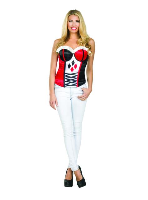 Corsé de Harley Quinn sexy para mujer