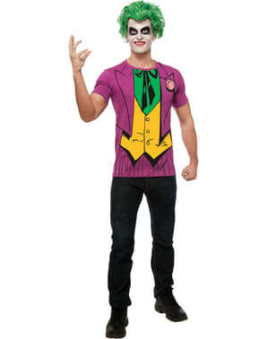 Mens Joker DC Comics costume kit