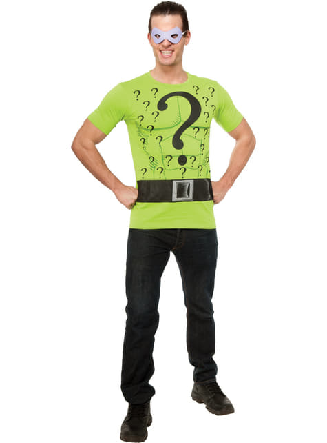 Kit disfraz de Enigma DC Comics para hombre