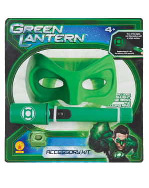 Zestaw akcesoriów Green Lantern dla dorosłych unisex