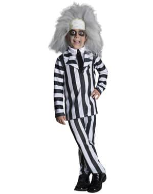 Costum Beetlejuice deluxe pentru băiat
