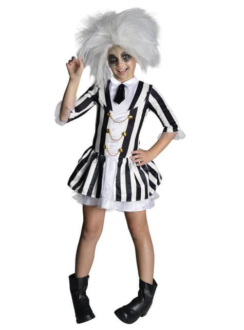 Beetlejuice deluxe Kostuum voor meisjes