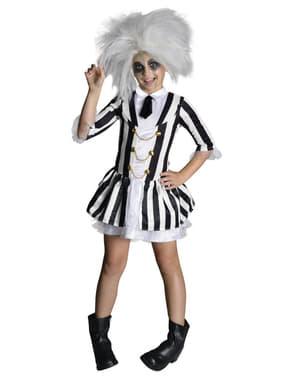 Costum Beetlejuice deluxe pentru fată