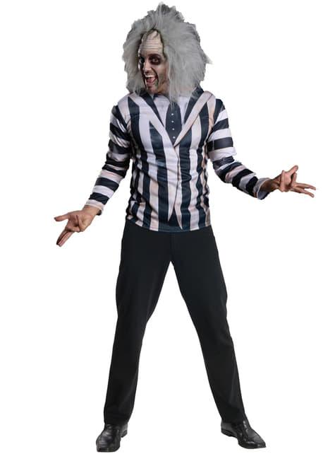 Beetlejuice kostumesæt til mænd