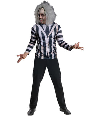 Mens Beetlejuice costume kit