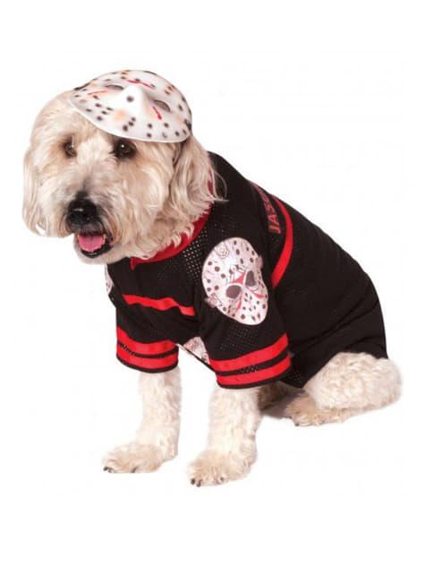 Disfraz de Jason Viernes 13 para perro