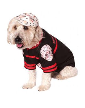 Jason Kostüm für Hunde Freitag der 13.