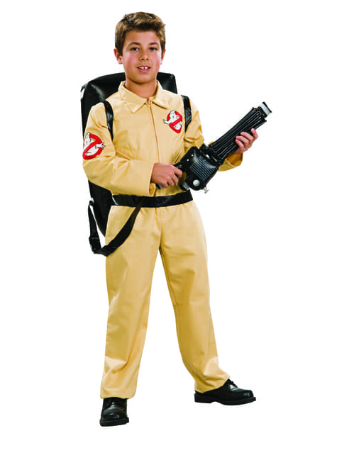Childrens Ghostbusters deluxe costume
