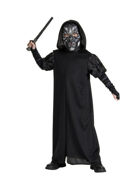 Disfraz de Mortífago para niño