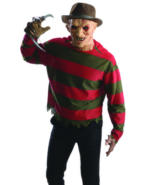 Mens Freddy Krueger Nightmare on Elm Street costume kit