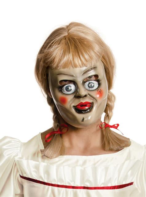 Máscara de Annabelle con peluca