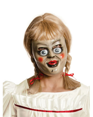 Máscara de Annabelle com peruca