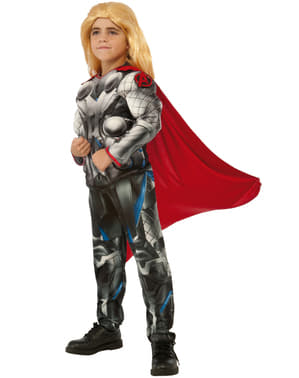 Disfraz de Thor Los Vengadores 2 La Era de Ultrón musculoso para niño