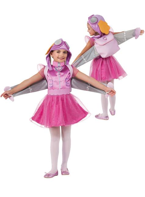 Girls Skye Paw Patrol Costume