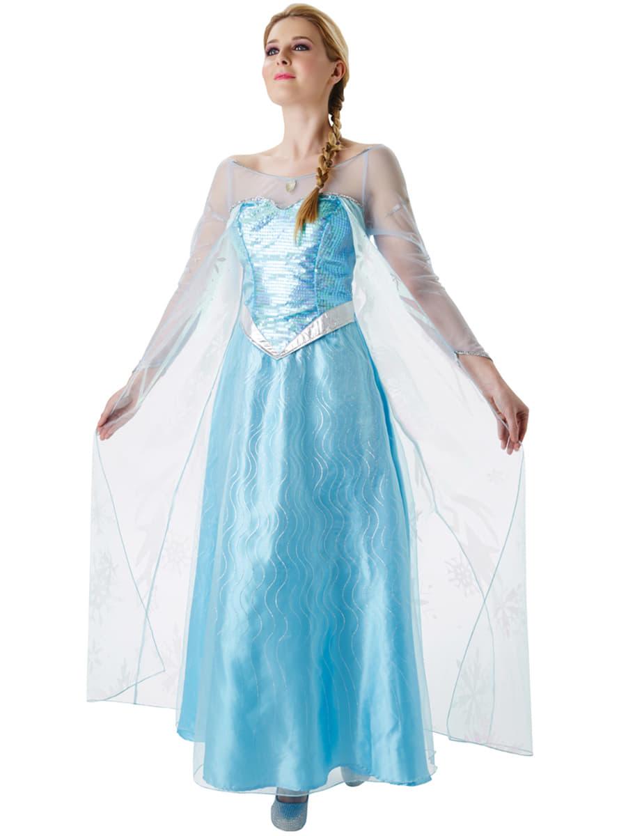 Womens elsa frozen costume womens elsa frozen costume zoom voltagebd Choice Image
