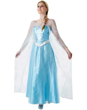 Costum Elsa Regatul de gheață (Frozen) pentru femeie