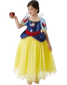 Costume Biancaneve prestige bambina