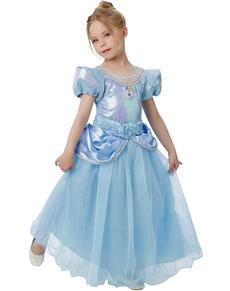 Disfraz de Cenicienta prestige para niña