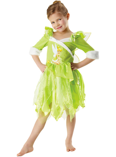 Girls Tinkerbell Winter Costume