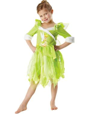 Girls Tinkerbell Winter Costume