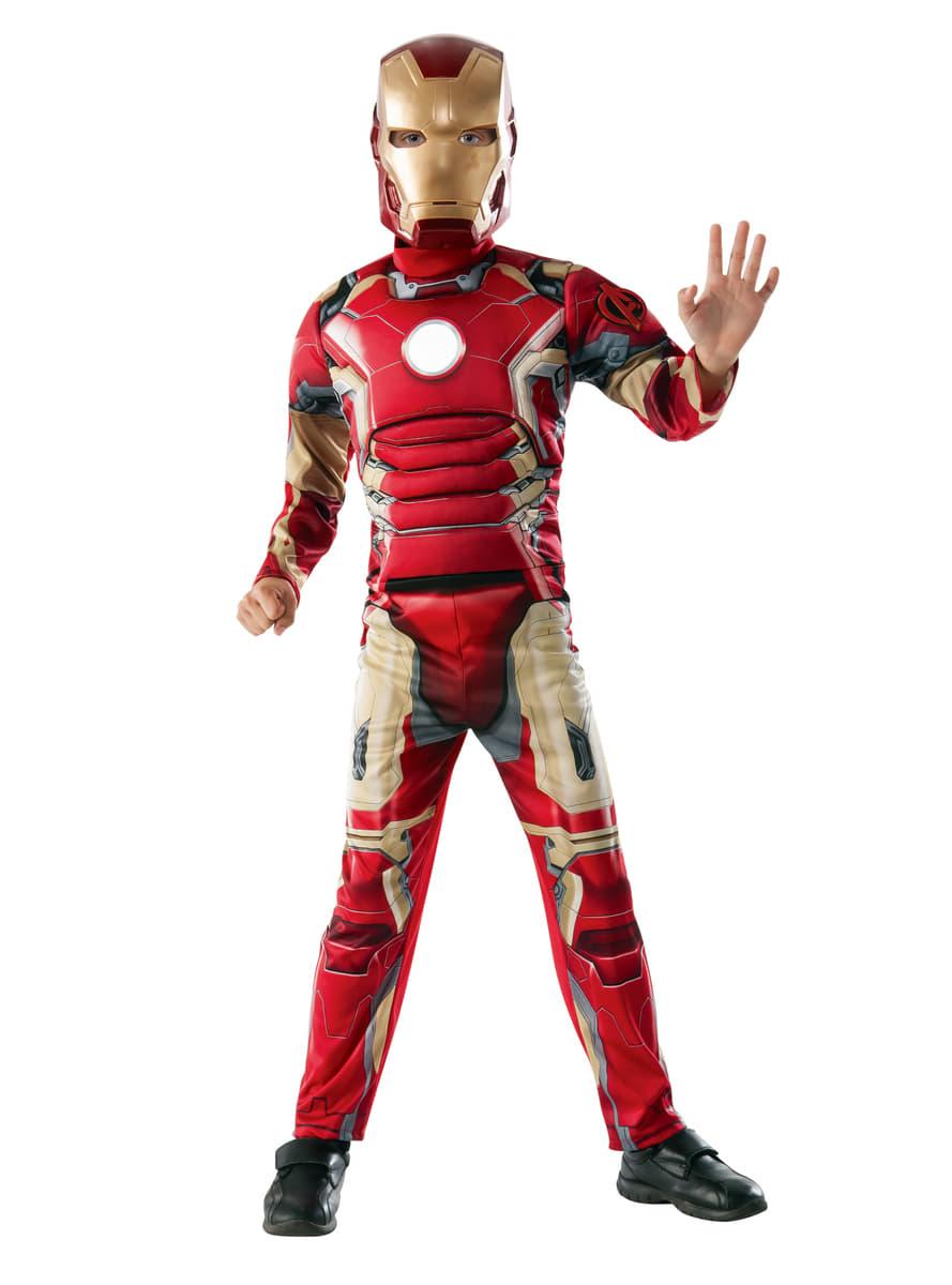 Boys Iron Man Avengers 2: Age of Ultron Muscular Costume ...