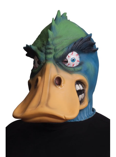 Máscara de pato furioso