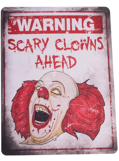 4 Horror Schilder