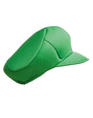 Czapka Luigi dla dzieci