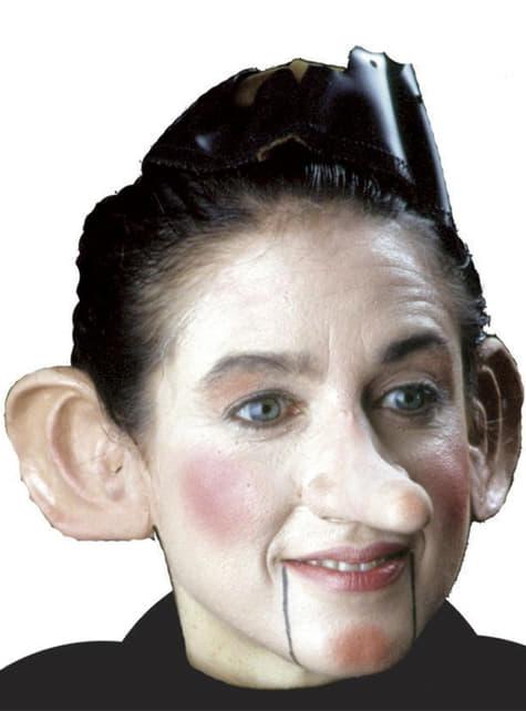 Nariz de Pinocho muñeco de madera de látex