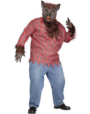 Plus Veľkosť Savage Vlkolak kostým