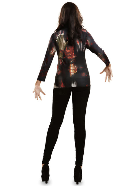 Womens Zombie Girl T-shirt