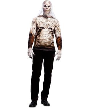 Тениска на бял бродник