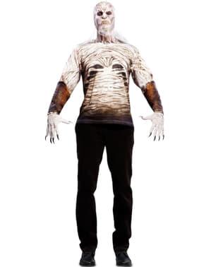לבן ווקר חולצת טריקו