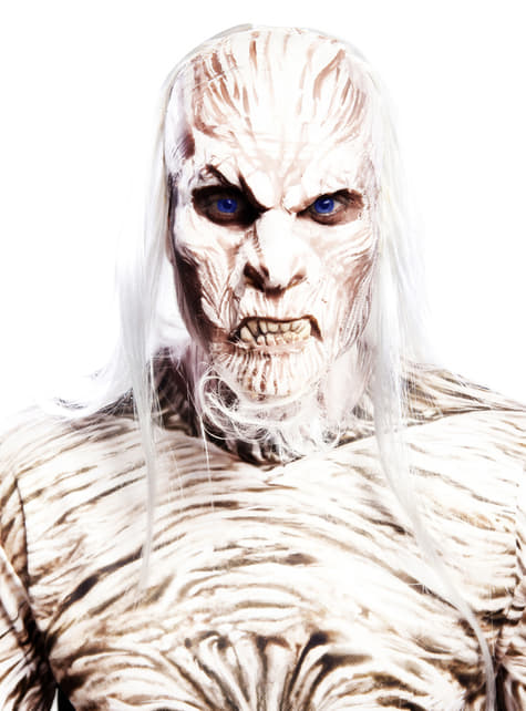 Tricou white walker alb