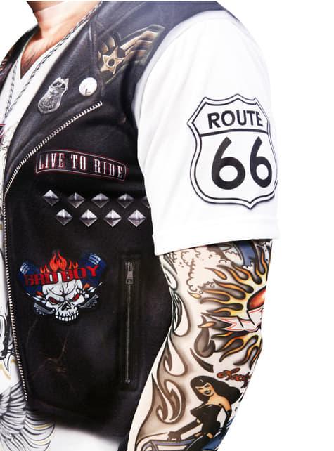 Tricou motociclist heavy pentru bărbat