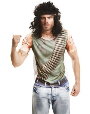 Verletzter Guerillakämpfer Shirt für Herren