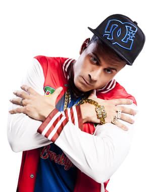 Camisola de rapper do bairro para homem