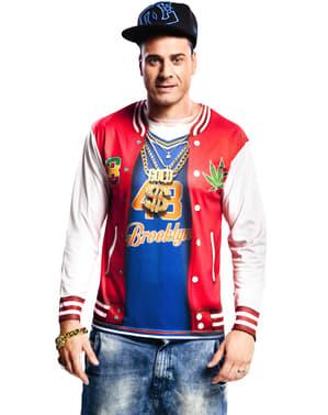 Shirt rapper van de buurt voor mannen