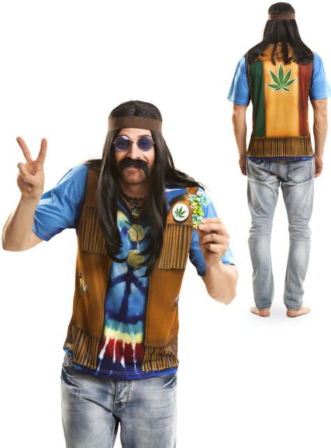 Camiseta de hippie festivalero para hombre - Halloween