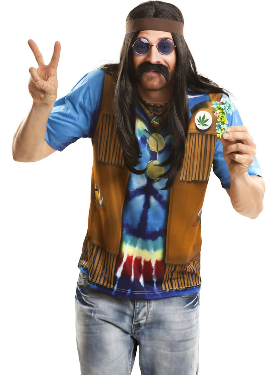 Matrimonio Hippie Uomo : Maglietta festival hippie uomo per il tuo costume funidelia