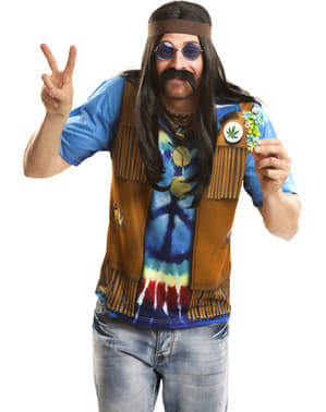 Shirt hippie voor mannen
