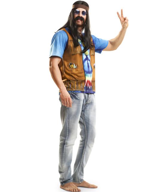 Camiseta de hippie festivalero para hombre - original