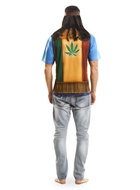Camiseta de hippie festivalero para hombre - traje