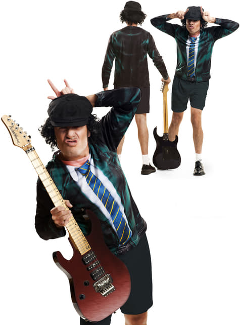 Mens Angus Guitar Player T-shirt
