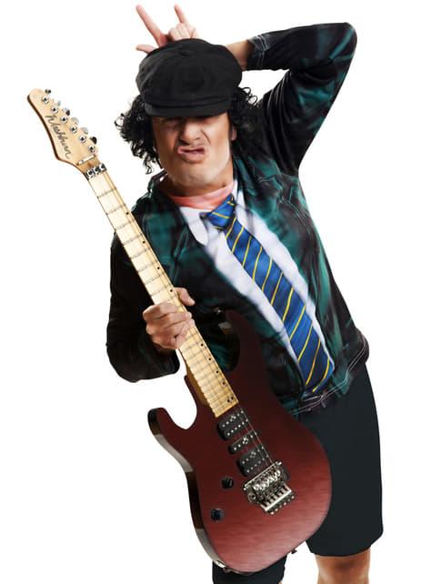 Angus Gitar Spiller T-Skjorte