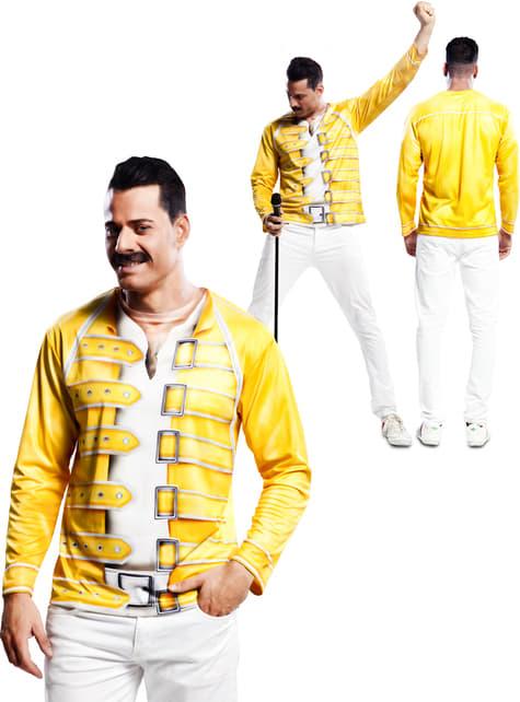 Chemise jaune Freddie Mercury Queen